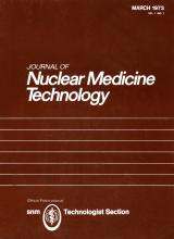 Journal of Nuclear Medicine Technology: 1 (1)