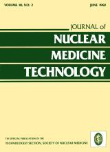 Journal of Nuclear Medicine Technology: 10 (2)
