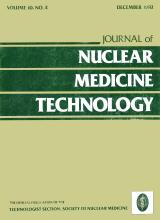 Journal of Nuclear Medicine Technology: 10 (4)