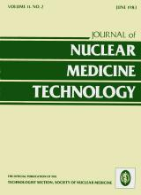 Journal of Nuclear Medicine Technology: 11 (2)
