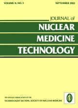 Journal of Nuclear Medicine Technology: 11 (3)