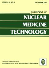 Journal of Nuclear Medicine Technology: 11 (4)