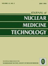 Journal of Nuclear Medicine Technology: 12 (2)