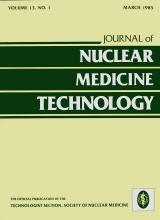 Journal of Nuclear Medicine Technology: 13 (1)