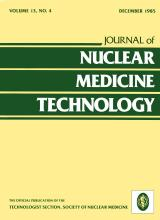Journal of Nuclear Medicine Technology: 13 (4)