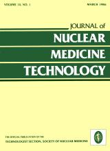 Journal of Nuclear Medicine Technology: 14 (1)