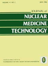Journal of Nuclear Medicine Technology: 14 (2)
