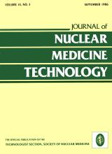 Journal of Nuclear Medicine Technology: 14 (3)