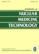 Journal of Nuclear Medicine Technology: 14 (4)