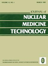 Journal of Nuclear Medicine Technology: 15 (1)