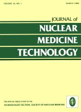 Journal of Nuclear Medicine Technology: 16 (1)