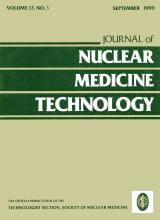 Journal of Nuclear Medicine Technology: 17 (3)