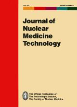 Journal of Nuclear Medicine Technology: 19 (2)
