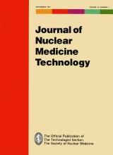 Journal of Nuclear Medicine Technology: 19 (3)