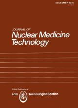 Journal of Nuclear Medicine Technology: 2 (4)