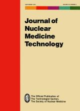Journal of Nuclear Medicine Technology: 20 (3)