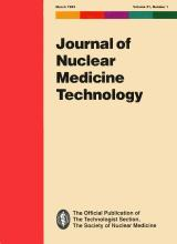 Journal of Nuclear Medicine Technology: 21 (1)