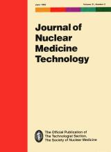 Journal of Nuclear Medicine Technology: 21 (2)