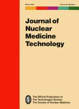 Journal of Nuclear Medicine Technology: 22 (1)