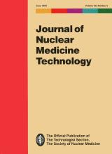 Journal of Nuclear Medicine Technology: 22 (2)