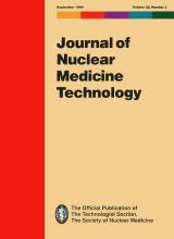 Journal of Nuclear Medicine Technology: 22 (3)