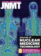 Journal of Nuclear Medicine Technology: 23 (1)