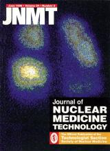 Journal of Nuclear Medicine Technology: 24 (2)