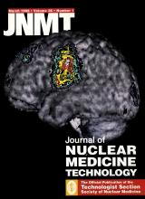 Journal of Nuclear Medicine Technology: 26 (1)