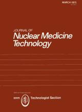 Journal of Nuclear Medicine Technology: 3 (1)