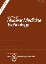 Journal of Nuclear Medicine Technology: 4 (2)