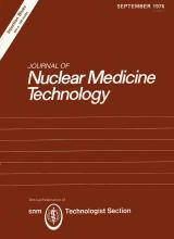 Journal of Nuclear Medicine Technology: 4 (3)