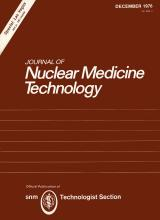 Journal of Nuclear Medicine Technology: 4 (4)