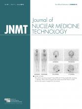 Journal of Nuclear Medicine Technology: 41 (1)