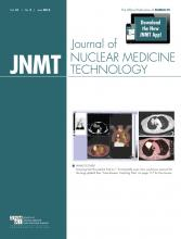 Journal of Nuclear Medicine Technology: 41 (2)