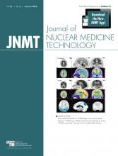 Journal of Nuclear Medicine Technology: 41 (3)