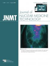 Journal of Nuclear Medicine Technology: 42 (3)