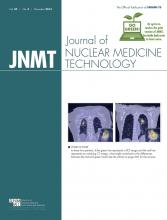 Journal of Nuclear Medicine Technology: 42 (4)
