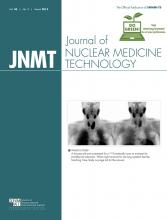 Journal of Nuclear Medicine Technology: 43 (1)