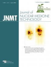 Journal of Nuclear Medicine Technology: 43 (3)