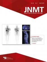 Journal of Nuclear Medicine Technology: 46 (1)