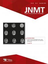 Journal of Nuclear Medicine Technology: 46 (4)