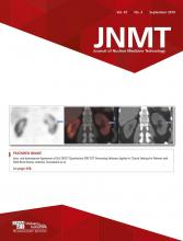 Journal of Nuclear Medicine Technology: 47 (3)