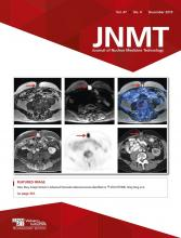 Journal of Nuclear Medicine Technology: 47 (4)
