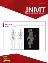 Journal of Nuclear Medicine Technology: 48 (4)