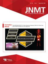 Journal of Nuclear Medicine Technology: 49 (3)