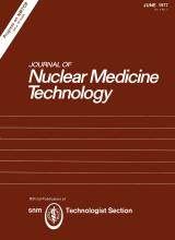 Journal of Nuclear Medicine Technology: 5 (2)