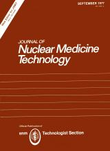 Journal of Nuclear Medicine Technology: 5 (3)