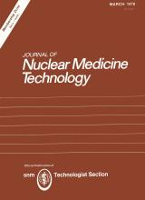 Journal of Nuclear Medicine Technology: 6 (1)