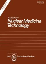 Journal of Nuclear Medicine Technology: 6 (2)