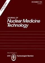 Journal of Nuclear Medicine Technology: 6 (4)